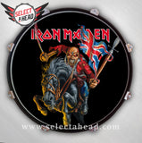 Iron Maiden England The Trooper - Select a Head Drum Display