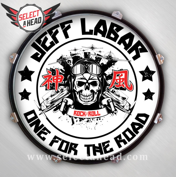 Jeff Labar One for the Road - Select a Head Drum Display