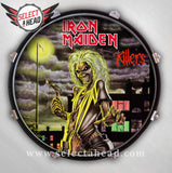 Iron Maiden Killers - Select a Head Drum Display