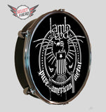 Lamb of God Skeleton Eagle - Select a Head Drum Display