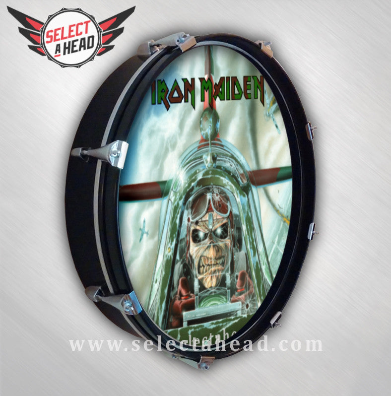 Iron Maiden Aces High - Select a Head Drum Display