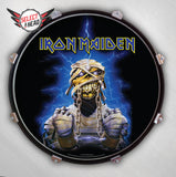 Iron Maiden  Eddie - Mummy - Select a Head Drum Display