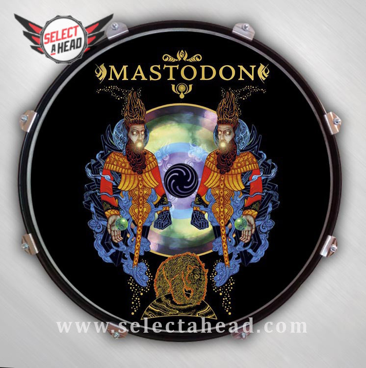 Mastodon Crack in the Skye - Select a Head Drum Display