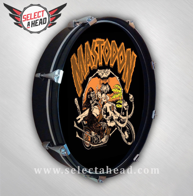 Mastodon Prehistoric Chopper - Select a Head Drum Display