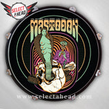 Mastodon Snake Charmer - Select a Head Drum Display