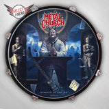 Metal Church Damned If You Do - Select a Head Drum Display