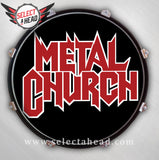 Metal Church - Select a Head Drum Display