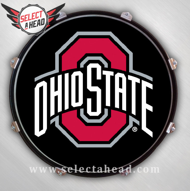 Ohio State - Select a Head Drum Display
