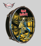 Iron Maiden  Piece of Mind - Select a Head Drum Display