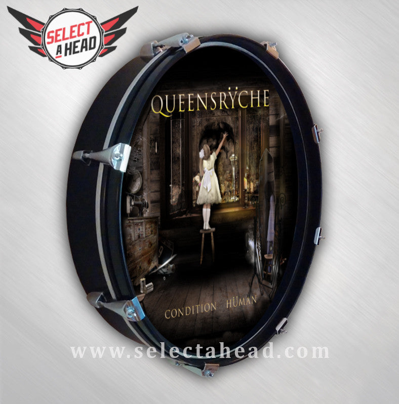 Queensryche Condition Human - Select a Head Drum Display