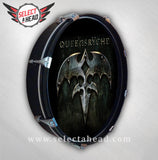 Queensryche 2013 Album Cover - Select a Head Drum Display