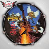 SIGNED - Stryper To Hell With The Devil - Select a Head Drum Display