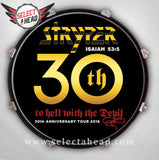 Stryper To Hell With The Devil 30th Anniversary - Select a Head Drum Display