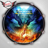 Stryper -No More Hell to Pay- Signed - Select a Head Drum Display