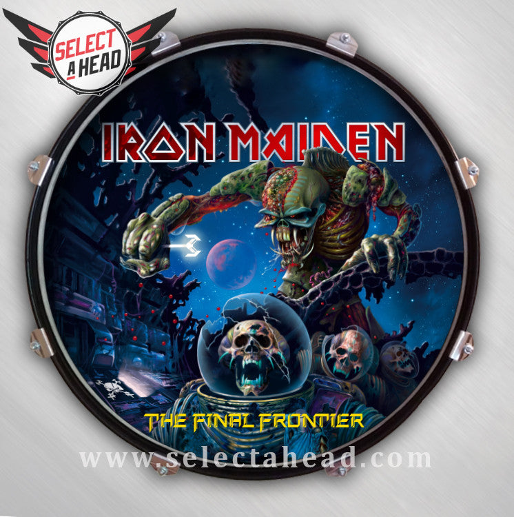 Iron Maiden The Final Frontier - Select a Head Drum Display