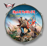 Iron Maiden The Trooper - Select a Head Drum Display
