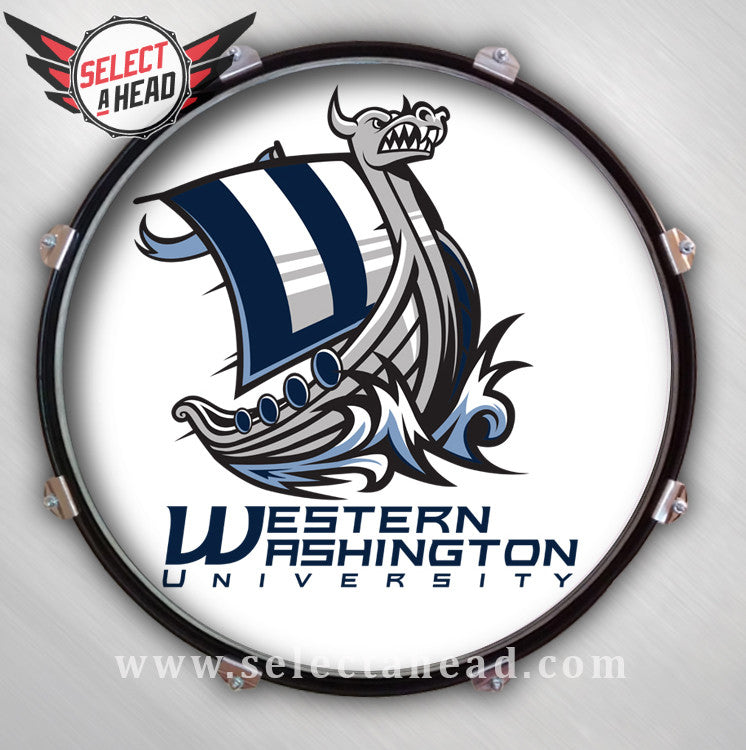Western Washington University - Select a Head Drum Display
