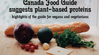 Canada Food Guide and Plant-Based Diet