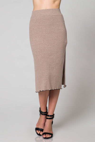 Honey Punch Knit Skirt