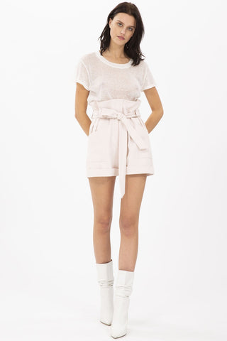 IRO - QUISERA SKIRT WM31QUISERA WHITE/SILVER WAS $469