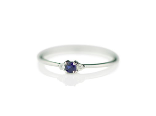 BABY ANYTHING - LADY CAPULET RING – 9K WHITE GOLD AND SAPPHIRE