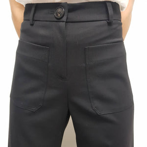 FASHION SOCIETY - FS07 SARAH CULOTTE BLACK