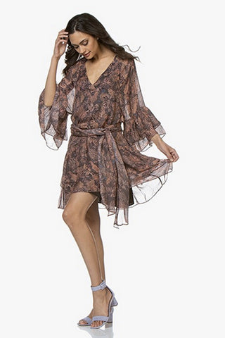 GOLD HAWK - COCO LACE DRESS OLIVE GREEN WAS $429