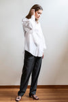 MAHSA - BILLOW SLEEVE SHIRT WHITE