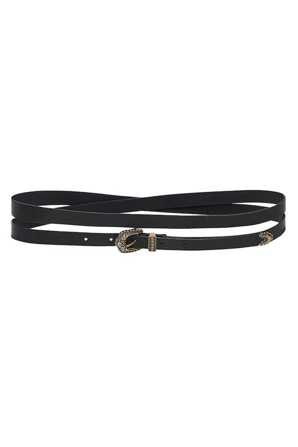 CAMILLA - SKINNY DOUBLE WRAP BELT WAS $279