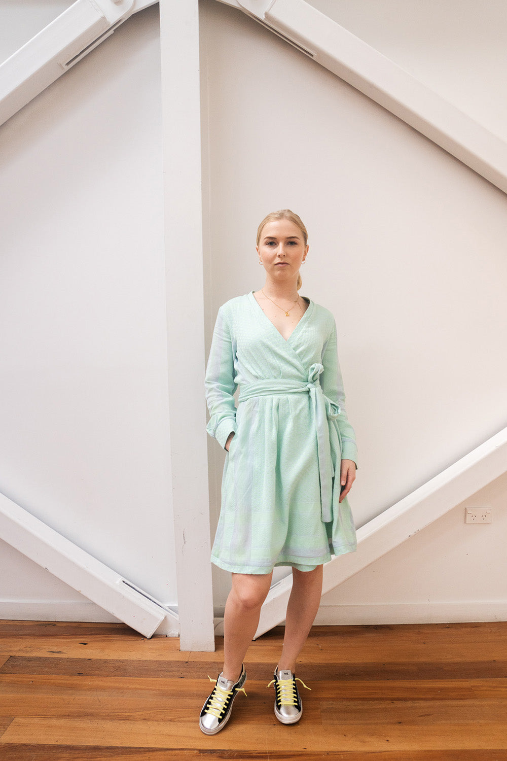 CECILIE COPENHAGEN - SOPHIA DRESS BALLAD BLUE