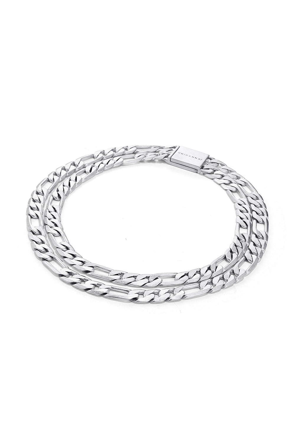 JENNY BIRD - DOUBLE CARTER CHOKER SILVER