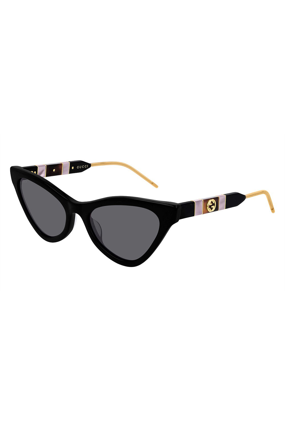 GUCCI - GG0597S 001 BLACK BLACK GREY