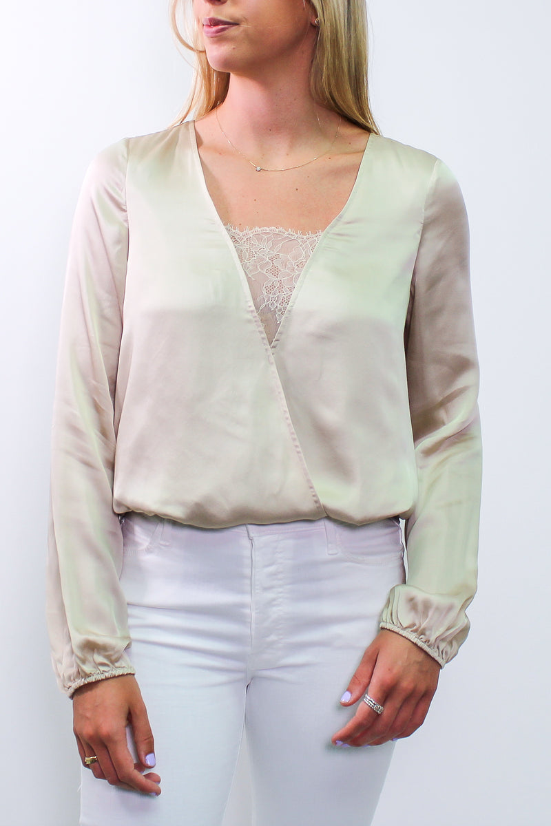 CAMI NYC - THE KATY BLOUSE OAT WAS $459
