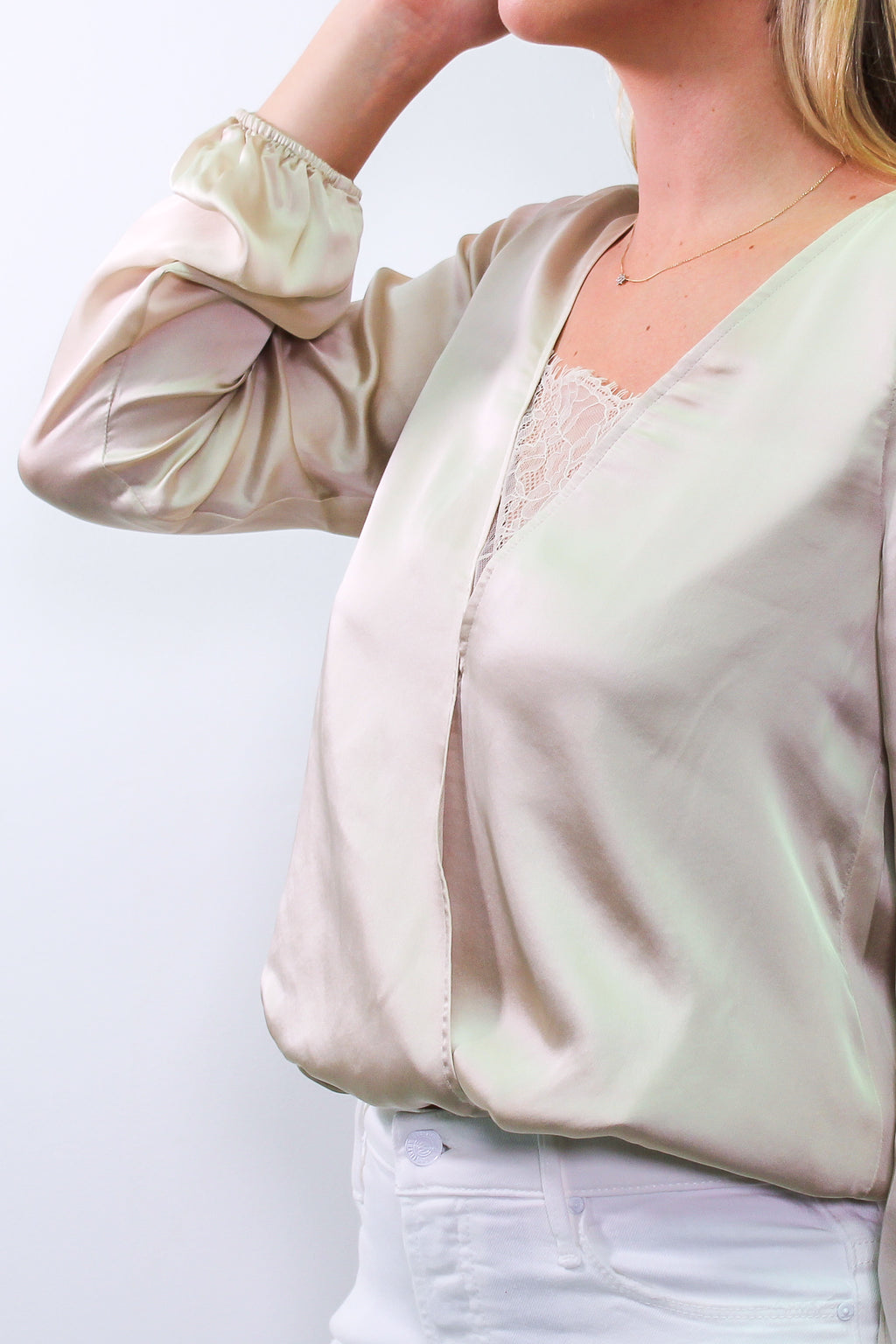 CAMI NYC - THE KATY BLOUSE OAT