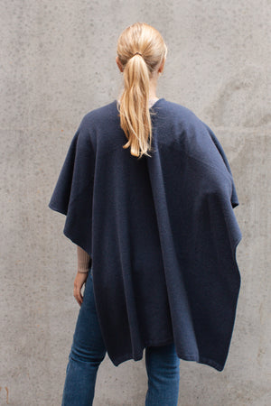 STANDARD ISSUE - GRAIN PONCHO DUSK
