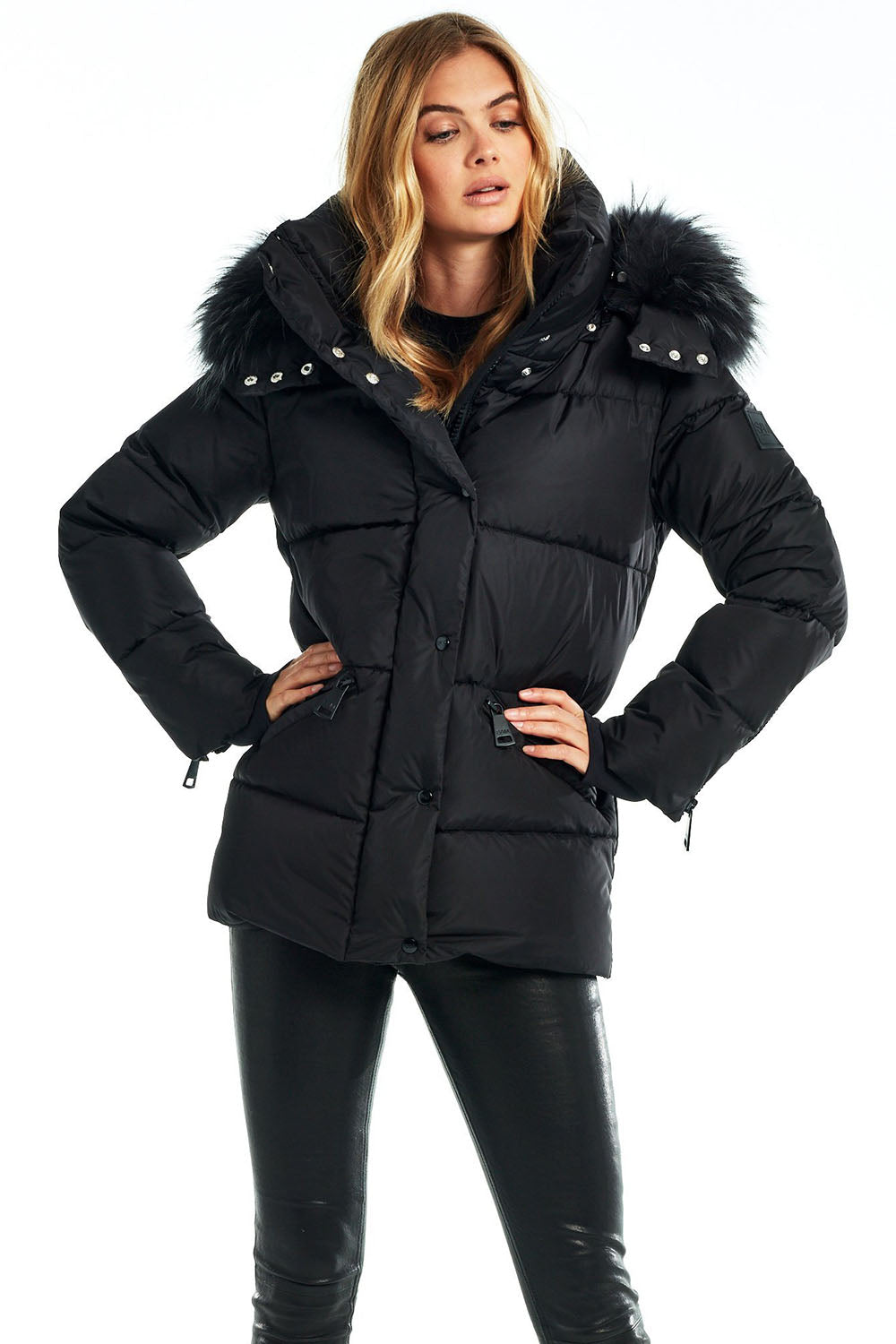 SAM NEW YORK - MONTANA JACKET MATTE BLACK