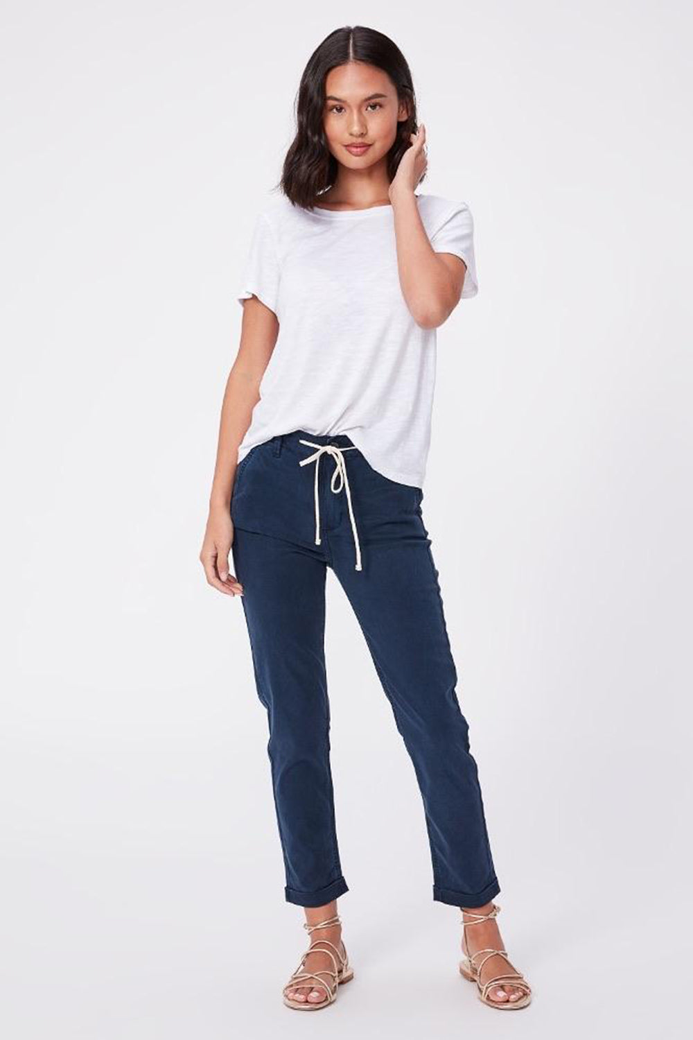 PAIGE - CHRISTY PANT FRENCH WATERS