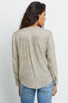 RAILS - HILLARY TOP CREAM SNAKESKIN