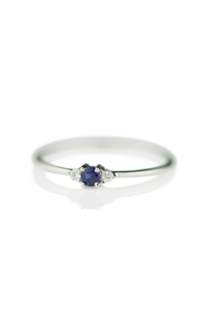 BABY ANYTHING - LADY CAPULET RING 9K WHITE GOLD AND SAPPHIRE