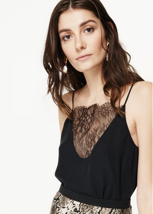 CAMI NYC - THE JOELLE CAMI BLACK WAS $319