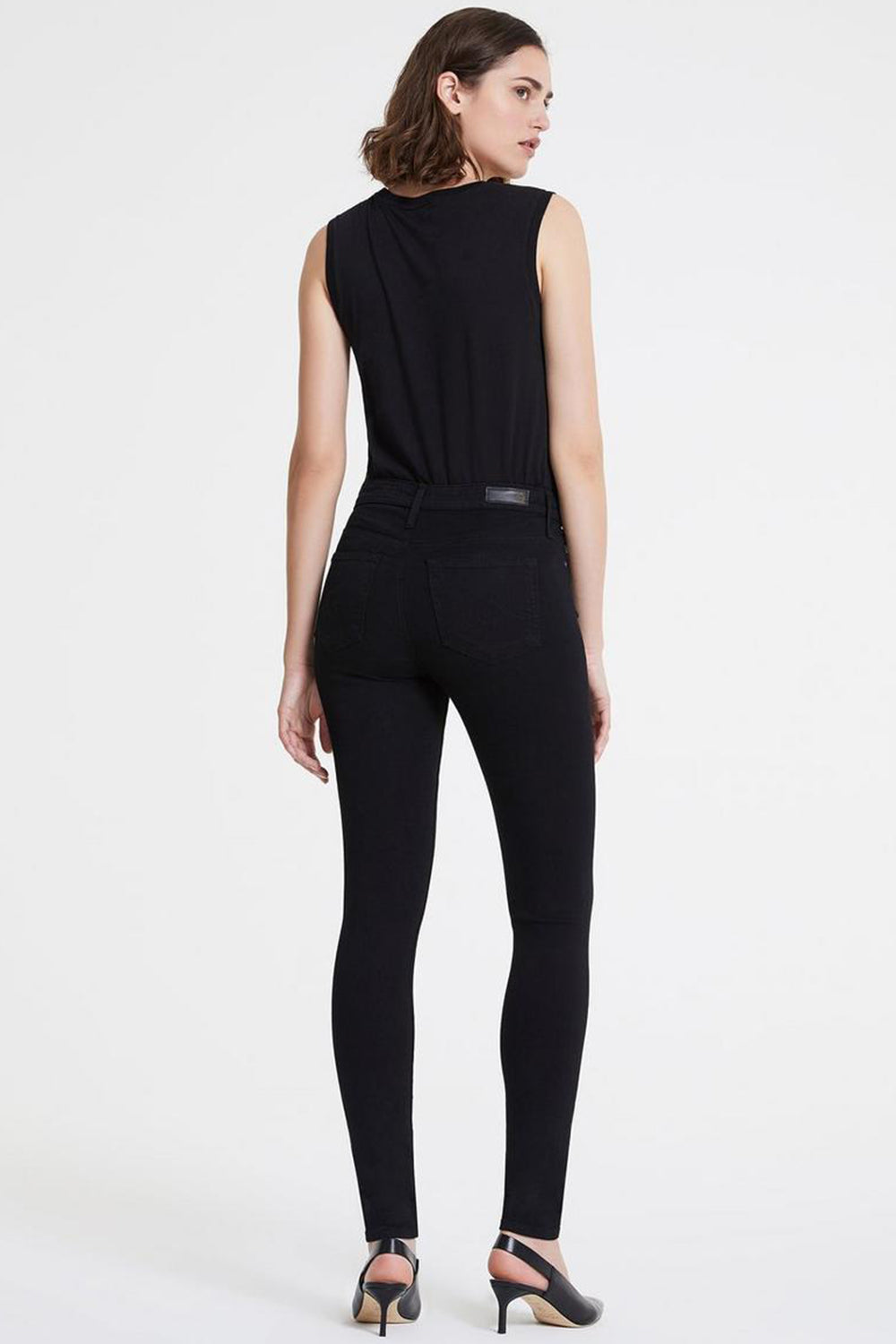 ADRIANO GOLDSCHMIED - FARRAH SKINNY SUPER BLACK