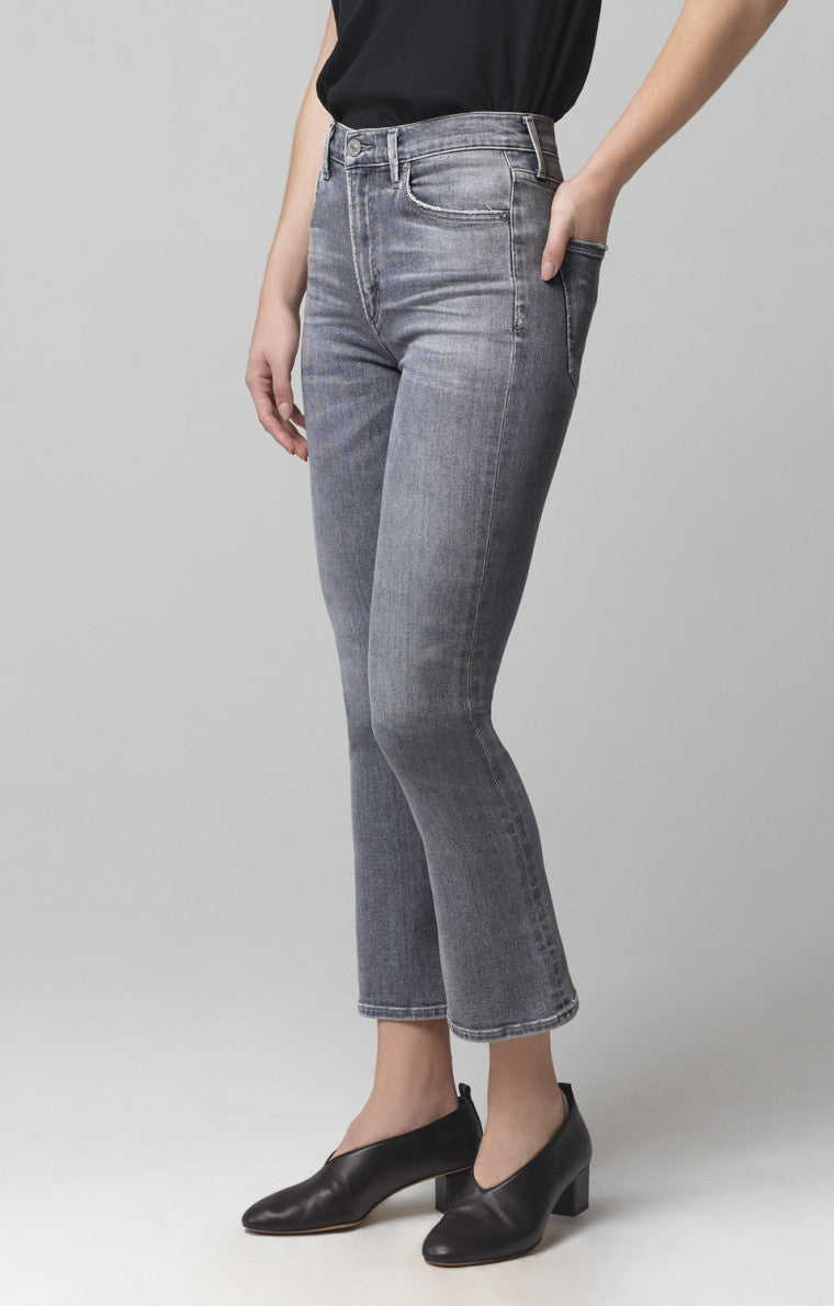 CITIZENS OF HUMANITY - DEMY CROPPED FLARE COSMIC WAS $369