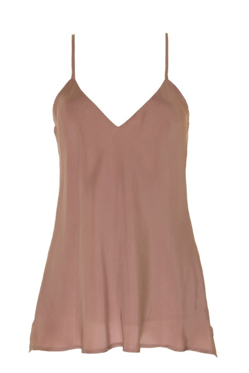 GOLD HAWK - SOLID CAMI ROSE TAUPE WAS $269