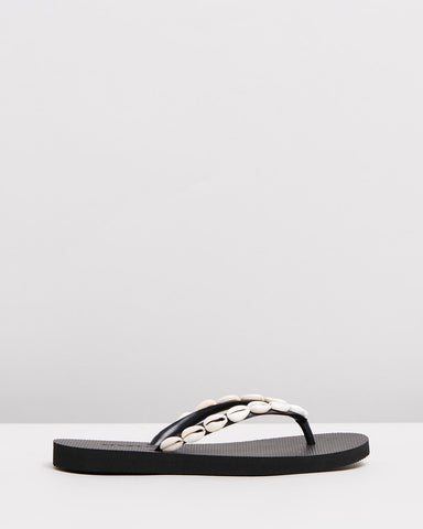 ESTILO EMPORIO - JIGSAW SLIDE BLACK WAS $289
