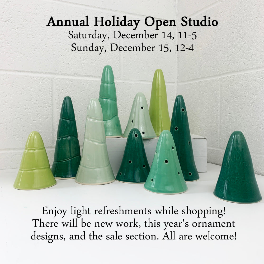 Bella Joy Pottery Annual Holiday Open Studio