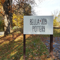 Bella Joy Pottery Sign