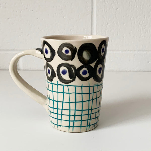 Bottom Grid Mug