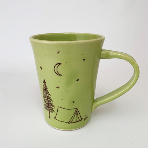 Coffee Mug | Bella Joy Pottery | Tent Camping