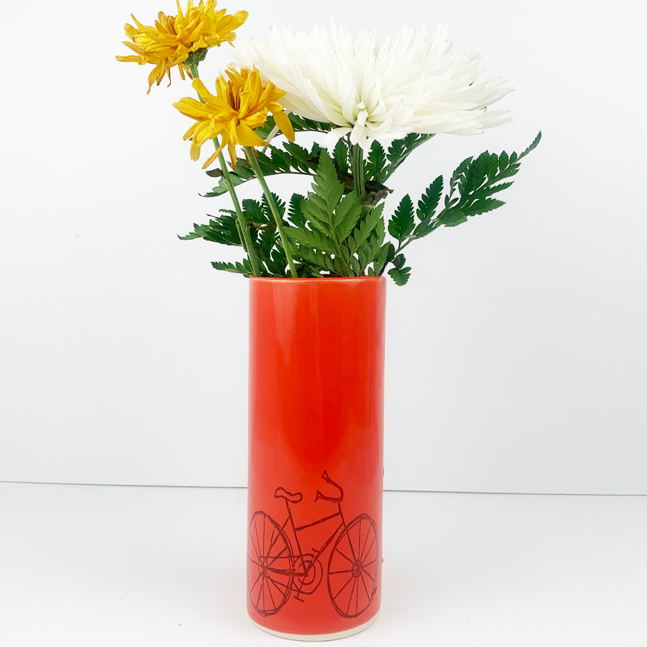 Bike Vase - Large Size