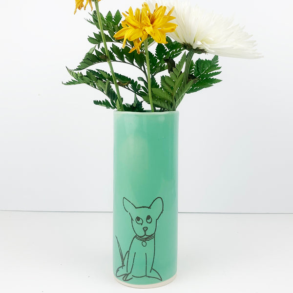 Dog Vase - Large Size